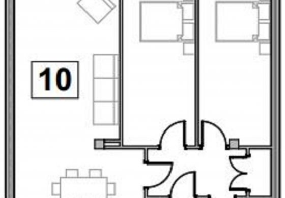 Flat 10 Floor plan