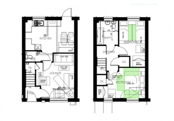 Floor Plan Moore Drive Copthorne Barracks Shared Ownership Severn Homes