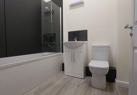Interior example bathroom Prospect House