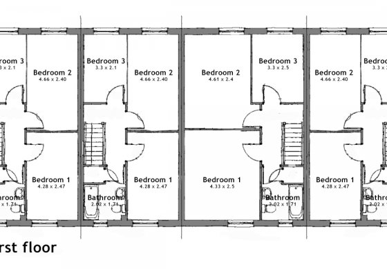 John Earlam indicative first floor plan